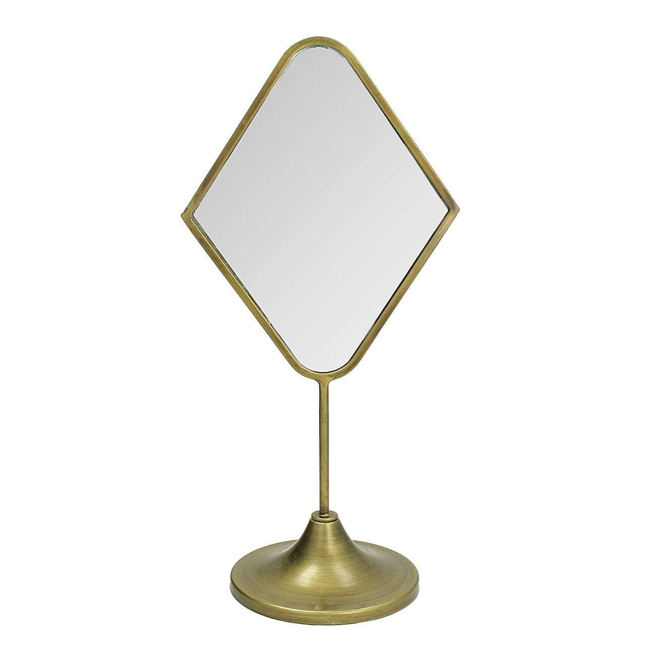 Zrcadlo stojací Carmen II výška 43 cm