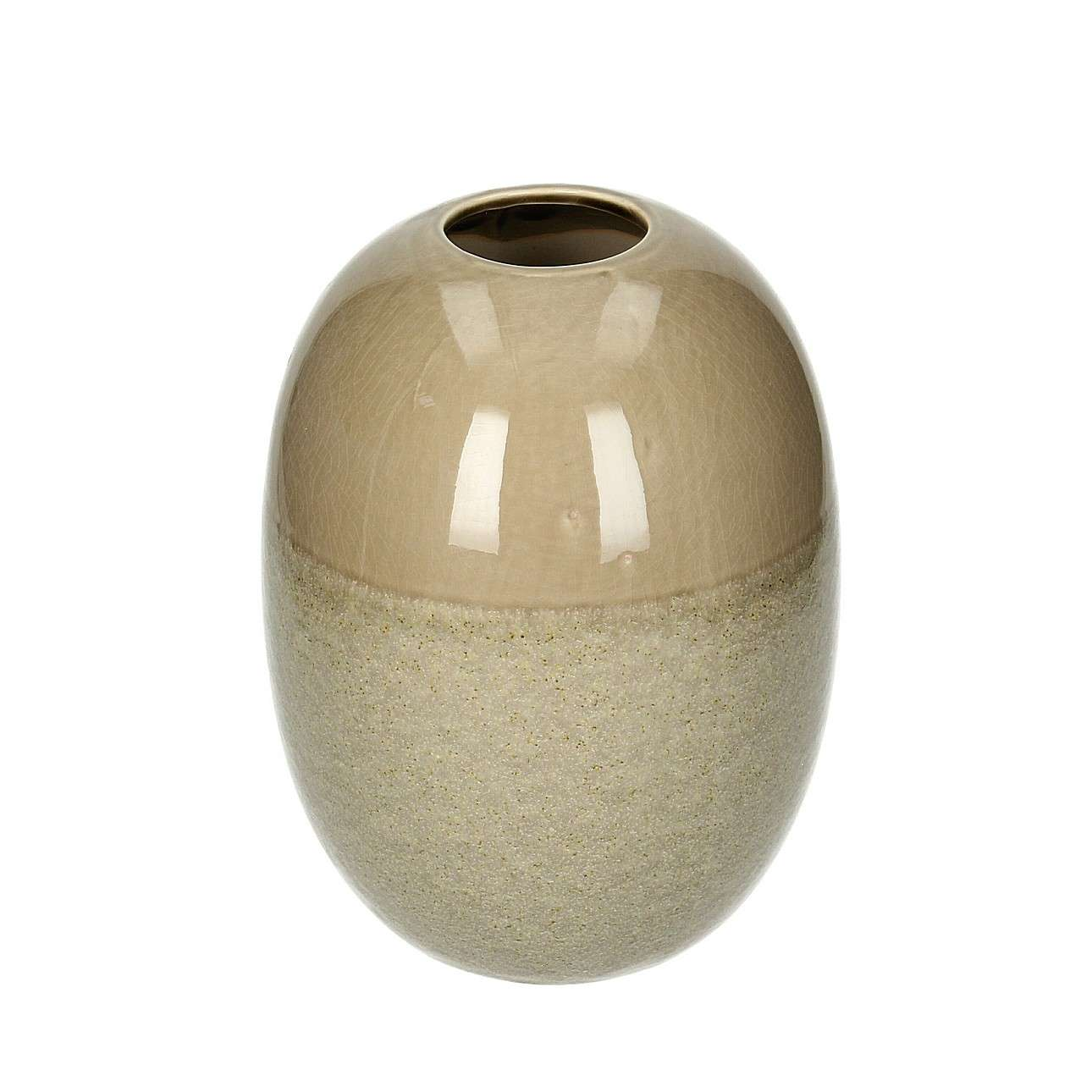 Vase Biacco Brown 25 cm