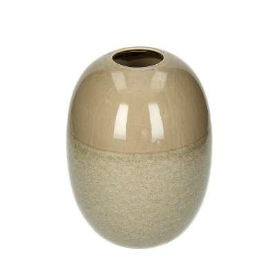 Vaza Biacco Brown 25 cm Vazos - Dekoria.lt
