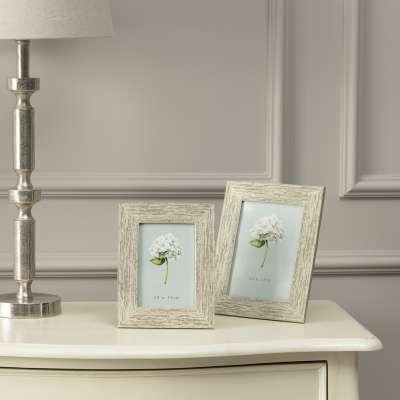 Fotorahmen Poly Silver 10 x 15 cm Rahmen - Dekoria.de