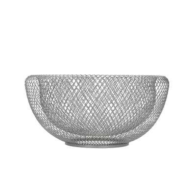 Fruitschaal Wire Silver 24 cm
