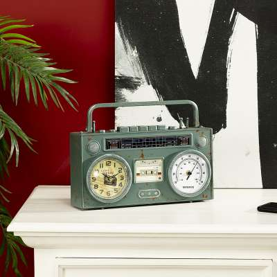 Zegar Radio Mint 35 x 8 x 26 cm Órák - Dekoria.hu