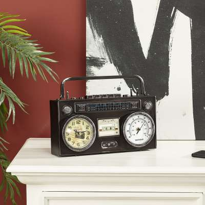 Laikrodis Retro II 35 x 8 x 26 cm Laikrodžiai - Dekoria.lt