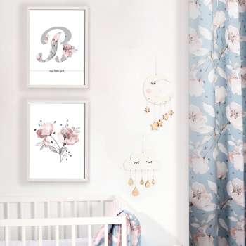 Obrazek Rose Lagoon Letter 30x40cm