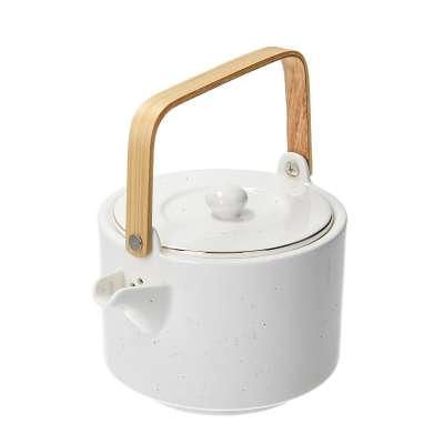 Kanne Artesanal White 800ml Tee- & Kaffeekannen - Dekoria.de