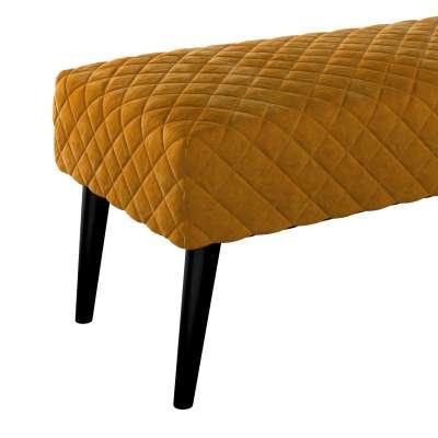 Čalouněná lavička Velvet s prošitím v kolekci Velvet, látka: 704-23