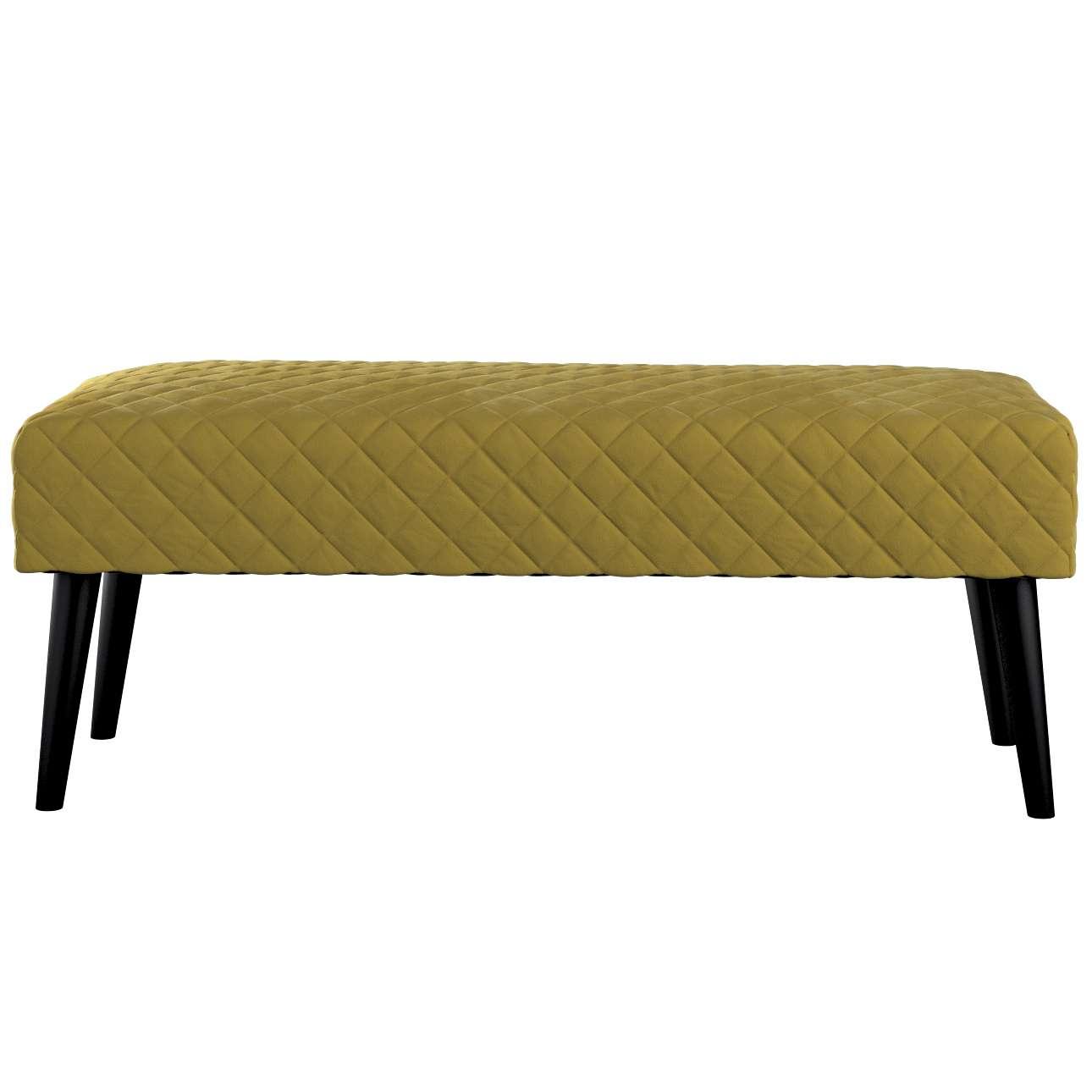 Čalúnená lavica, pikovaná, Velvet V kolekcii Velvet, tkanina: 704-27
