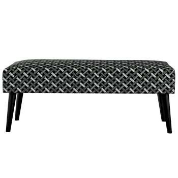 Ławka black w kolekcji Black & White, tkanina: 142-87
