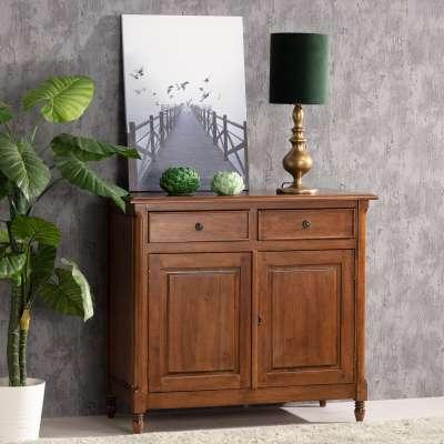 Komoda Charlie 2 szuflady, 2 drzwi, brown