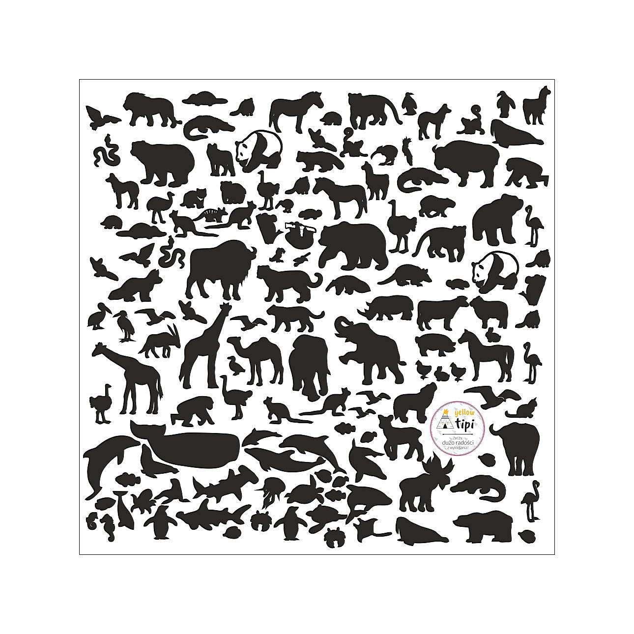 World Animals Black