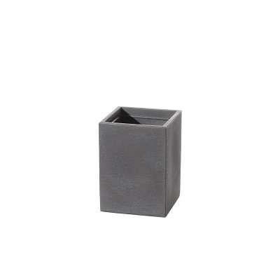 Osłona donicy Cubus Grey 29 x 29 x 40 cm
