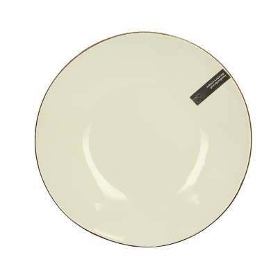Talerz Organic Line 28 cm cream