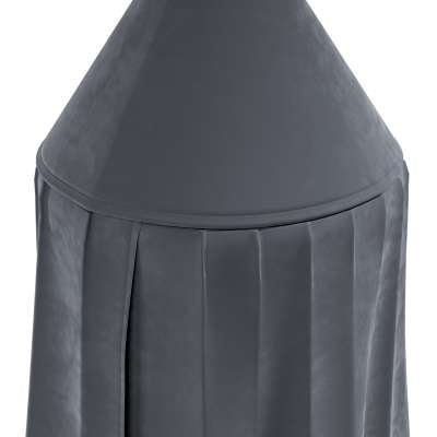 Canopy 704-12 graphite grey Collection Posh Velvet