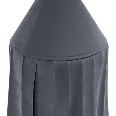 Pakabinama palapinė 704-12 pilka tamsi Kolekcija Posh Velvet