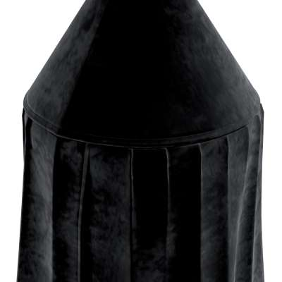 Baldachýn 704-17 tmavě černá Kolekce Posh Velvet