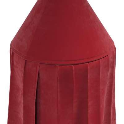 Baldachim 704-15 intensywna czerwień Kolekcja Posh Velvet