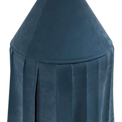 Baldachýn 704-16 pruská modř Kolekce Posh Velvet