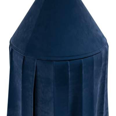 Baldachýn 704-29 námořnická modrá Kolekce Posh Velvet