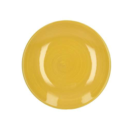 Teller Augusto 22 cm yellow