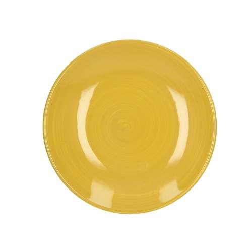 Talíř  Agusto 22 cm yellow