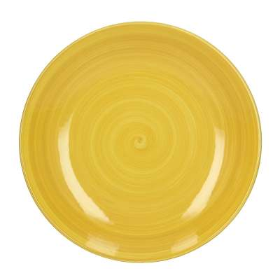 Teller Augusto 27 cm yellow