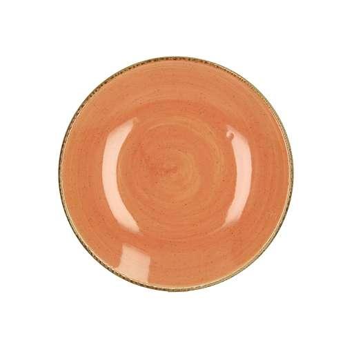 Dezertní talíř Laguna terakota průměr 21cm