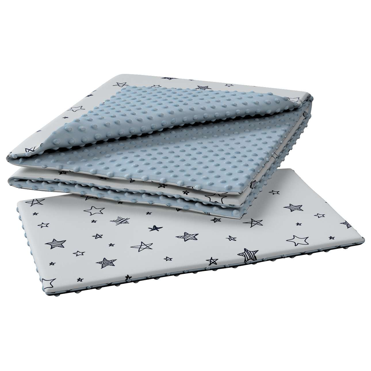 Minky-Babydecke von der Kollektion Magic Collection, Stoff: 500-08