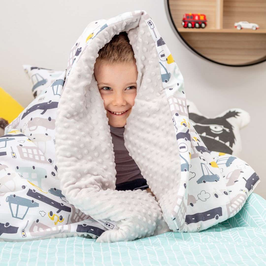 Minky blanket in collection Magic Collection, fabric: 500-02