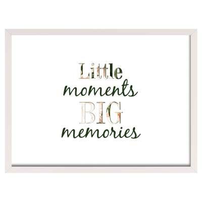 Obrazek Little moments 30x40cm Obrazy w ramkach - Yellowtipi.pl