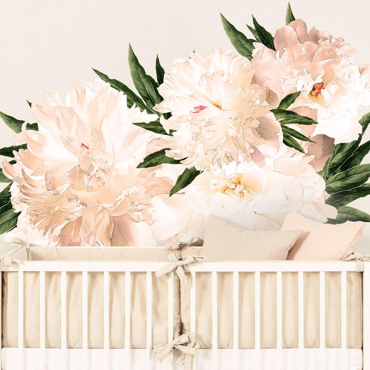 Naklejka Peony flowers