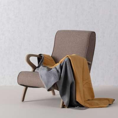 Kuscheldecke Cotton Cloud 150x200cm  Mustard&Grey