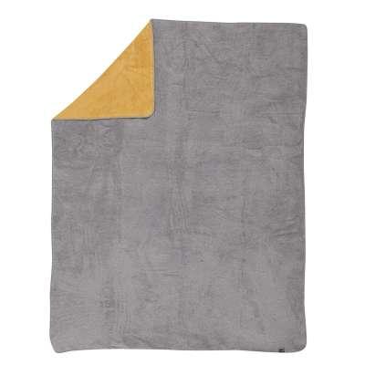 Deka Cotton Cloud 150x200 cm horčicvo - šedá