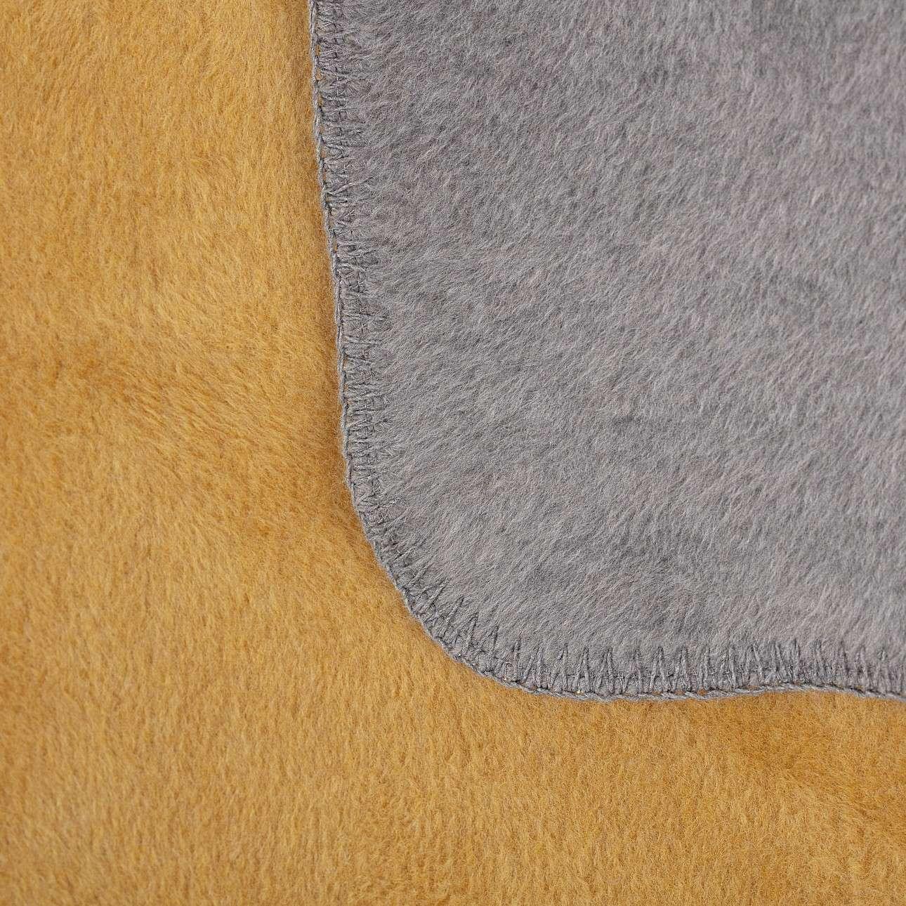 Cotton Cloud  Blanket 150x200cm  Mustard&Grey
