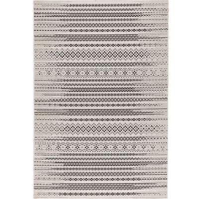 Koberec Modern Etno wool/ black 200x290cm Koberce - Dekoria-home.cz