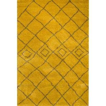 Dywan Royal Mustard/ Grey 200x290cm