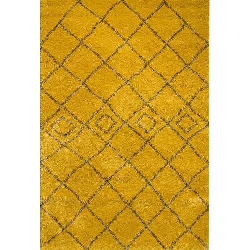 Koberec Royal Mustard/ Grey 200x290cm