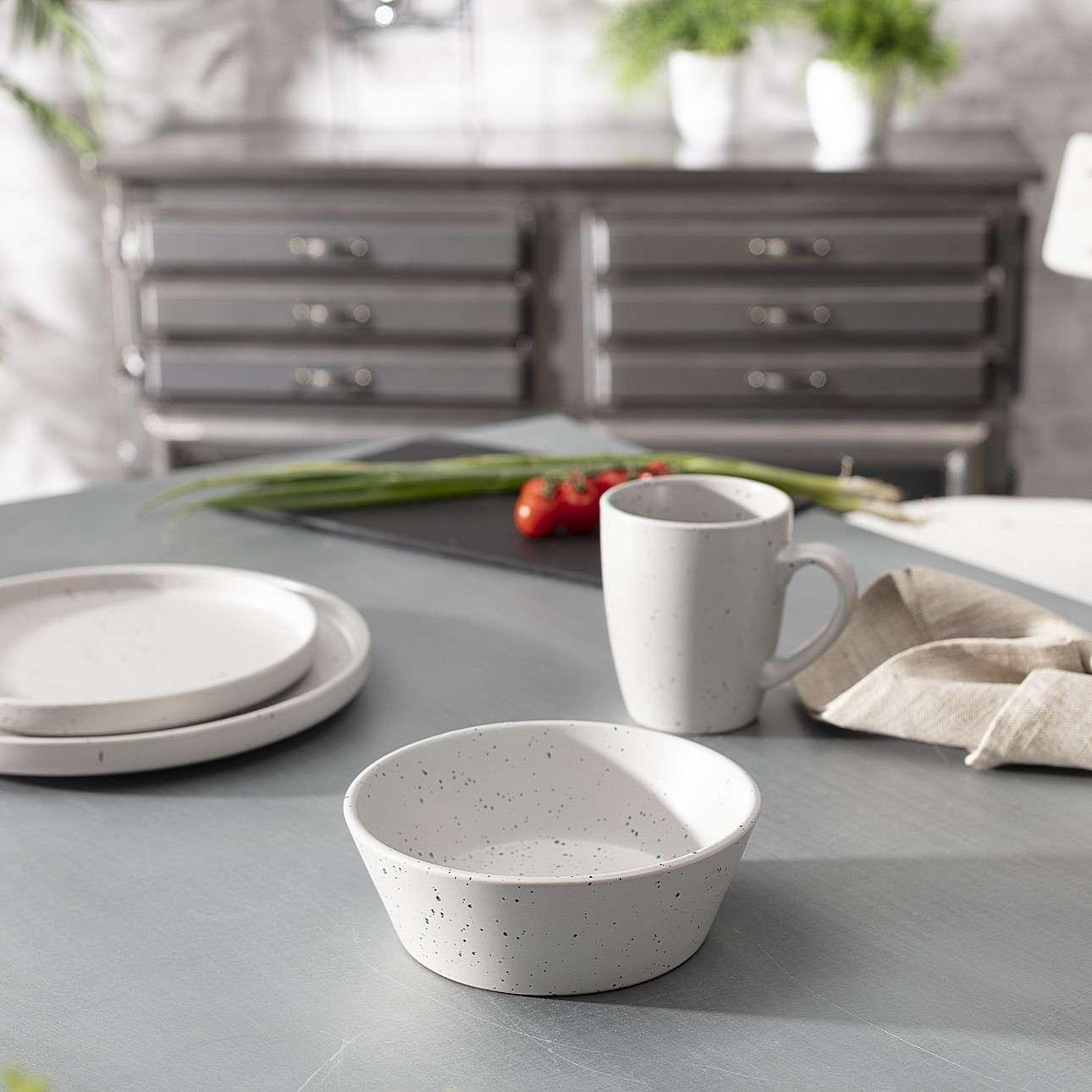 Schüssel Splash 400 ml grey