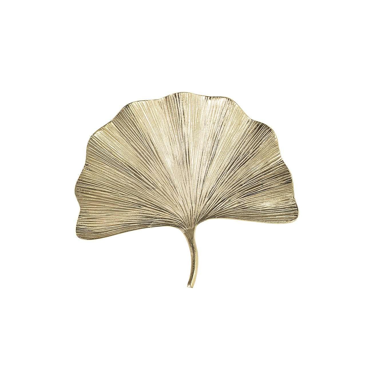 Nástěnná dekorace Ginkgo Gold I výška 44,5cm