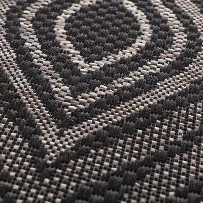 Breeze black/ clif grey Rug 120 x 170 cm Rugs and Runners - Dekoria.co.uk