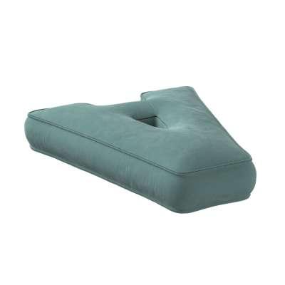 Letter pillow A 704-18 dusty mint green Collection Posh Velvet