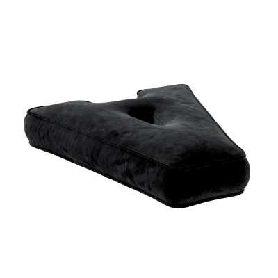 Letter pillow A 704-17 black Collection Posh Velvet