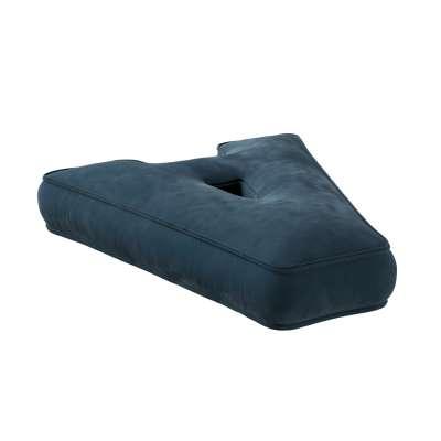 Letter pillow A 704-16 dark blue Collection Posh Velvet