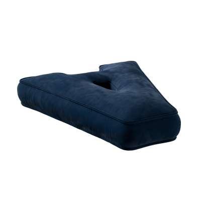 Letter pillow A 704-29 navy blue Collection Posh Velvet
