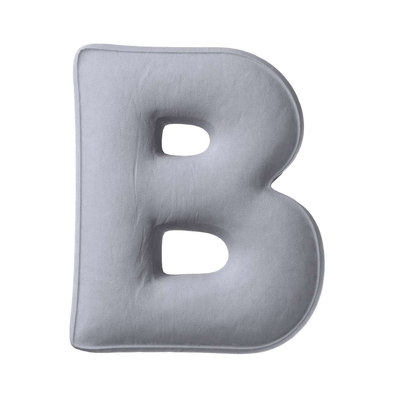 Polštář písmenko B v kolekci Posh Velvet, látka: 704-24