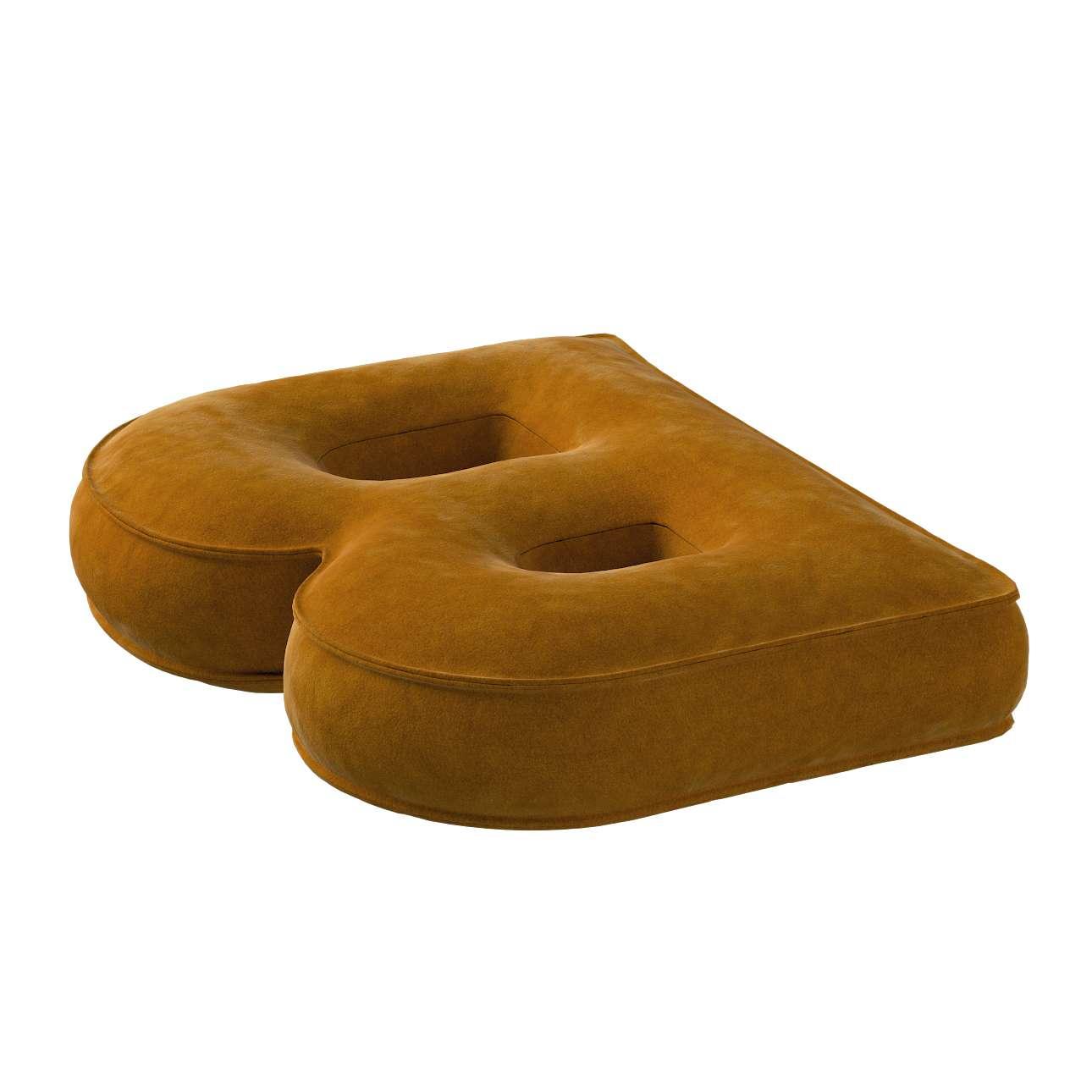 Raidė pagalvėlė B kolekcijoje Posh Velvet, audinys: 704-23