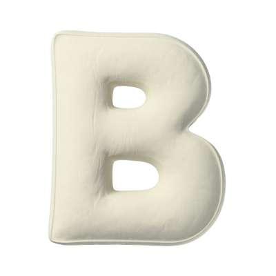 Polštář písmenko B