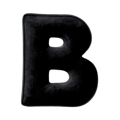 Poduszka literka B 704-17 Kolekcja Posh Velvet