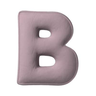 Polštář písmenko B v kolekci Posh Velvet, látka: 704-14