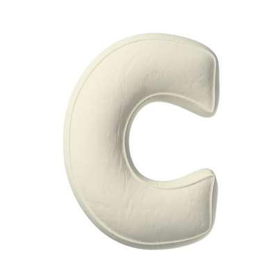 Buchstabenkissen C von der Kollektion Posh Velvet, Stoff: 704-10