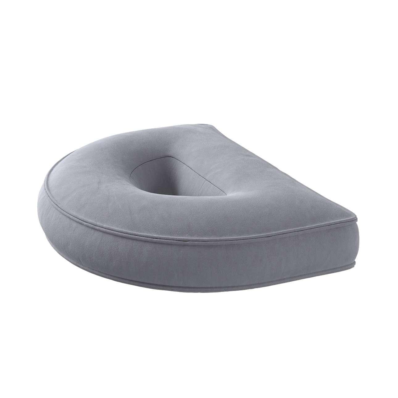 Raidė pagalvėlė D kolekcijoje Posh Velvet, audinys: 704-24